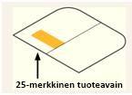 Product Key -tuotetunnus tuotepakkauksen sisällä olevassa tarrassa, joka on kotelon vasemmassa reunassa.