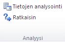 Kuva Excelin valintanauhasta