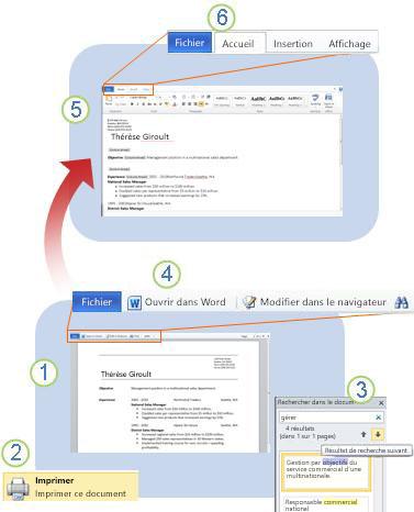 Word Web App en un clin d'œil