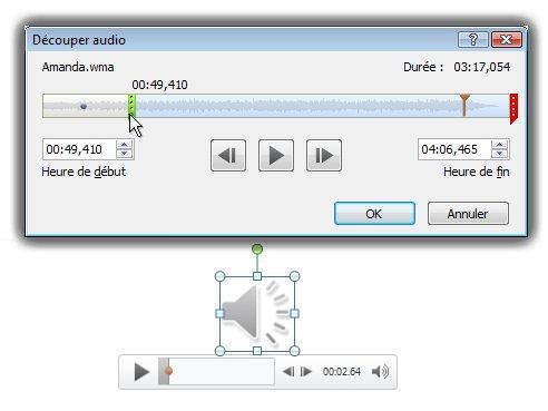 Découpage audio