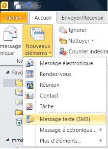 Utiliser Exchange Server et Windows Mobile pour envoyer des SMS