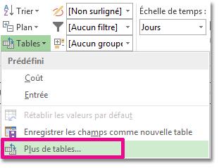 Image Plus de tables