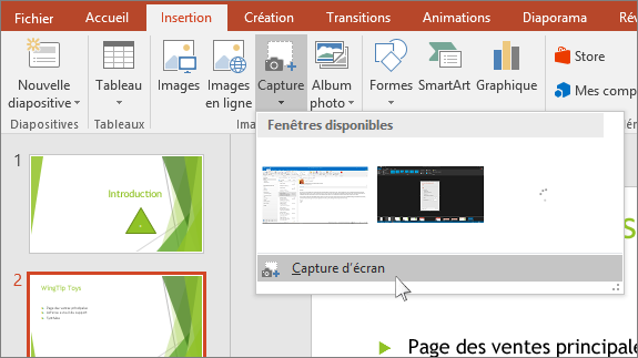 Ins rer le contenu d un fichier pdf dans une pr sentation for Ouvrir fenetre plein ecran windows 7