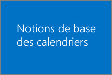 Notions de base des calendriers