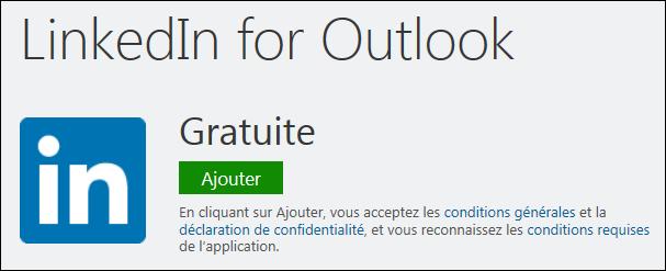 Installer l'application LinkedIn