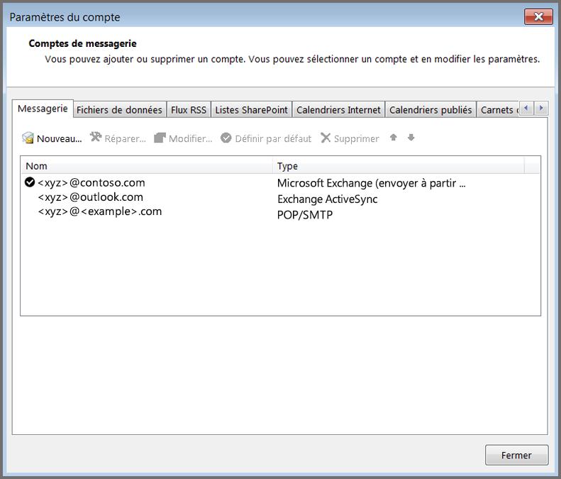 installer le serveur de messagerie di windows server 2003