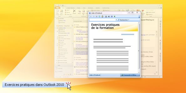 Session pratique d'Outlook 2010