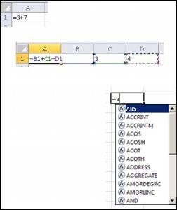 Različiti načini stvaranja formula