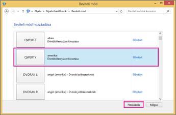 Office 2016 – Új beviteli mód a Windows 8-ban