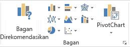 Grup Bagan pada tab Sisipkan