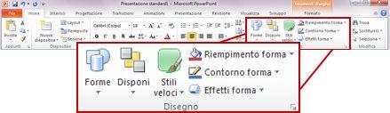 Gruppo disegno della scheda home sulla barra multifunzione for Disegno una finestra testo