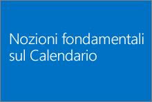Nozioni fondamentali sul Calendario