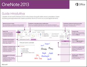 Guida introduttiva di OneNote 2013
