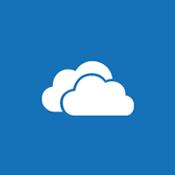 비즈니스용 OneDrive와 개인 사이트를 나타내는 클라우드의 타일 이미지
