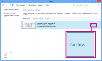 """Įvesties metodo įtraukimas """"Windows 8"""" valdymo skyde"""
