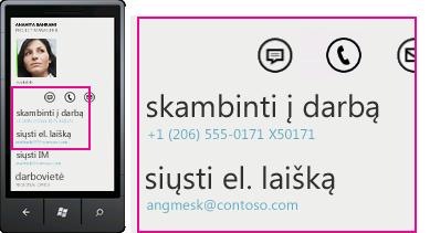 """Lync"" mobiliesiems klientams"