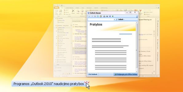 """Outlook 2010"" pratybos"