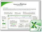 Excel 2010 migrēšanas ceļvedis