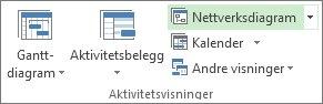 Bilde av knappen Nettverksdiagram i kategorien Visning.