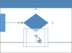 Slipp figur på pil for automatisk tilkobling