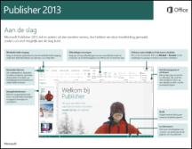 Handleiding Snel aan de slag voor Publisher 2013