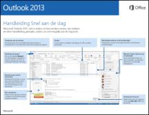 Handleiding Snel aan de slag voor Outlook 2013
