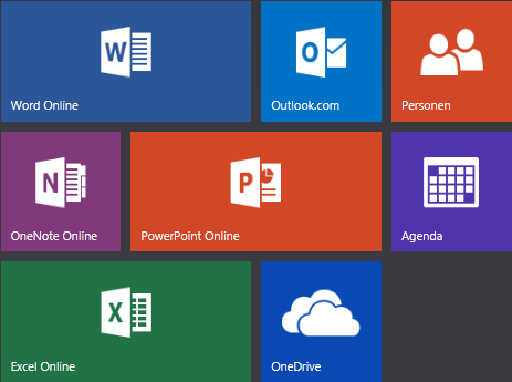 Office.com-startscherm
