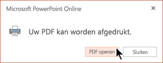 Uw PDF is gereed