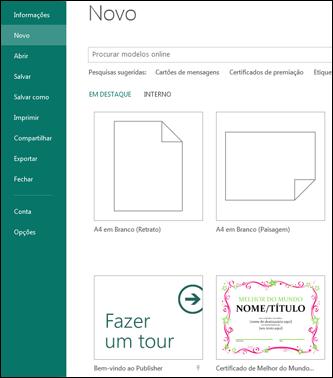 Localizar mais modelos no publisher publisher for Oficina 9736 la caixa