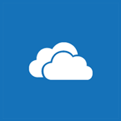 Imagem lado a lado de uma nuvem para representar o OneDrive for Business e os sites pessoais