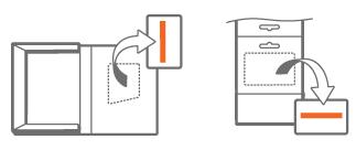 Localização da chave do produto (Product Key) quando se compra o Office de um revendedor, mas não em DVD