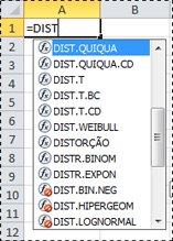 Funções no Excel 2010