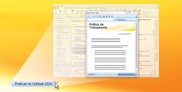 Prática do Outlook 2010