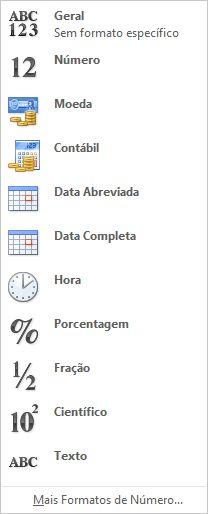 Galeria Formato de número