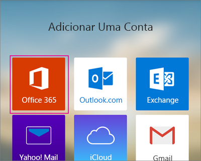 Seleccione o Office 365