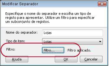 separador com filtro aplicado