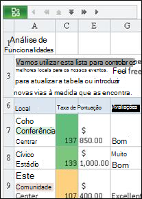 Mobile Viewer para Excel