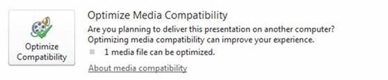 Optimizarea elementelor media pentru compatibilitate