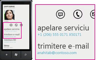 Lync pentru clienți mobili