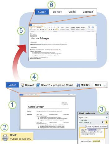 Úvod do aplikácie Word Web App