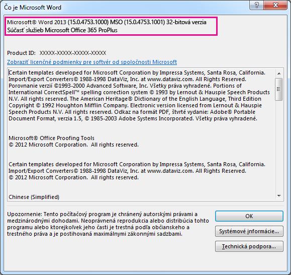 Okno Oprograme Microsoft Word