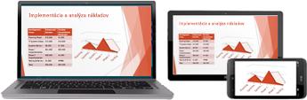 Začatie online schôdze v PowerPointe