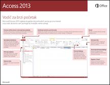 Access 2013 vodič za brzi start