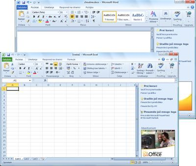Word Starter i Excel Starter