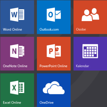 Office.com početni ekran