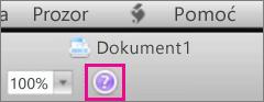 Kliknite na znak pitanja da biste otvorili Mac Office pomoć