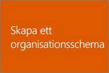Skapa ett organisationsschema