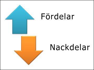 SmartArt-grafik med motsatspilar.