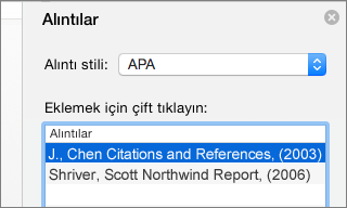 how to add references in word 2016