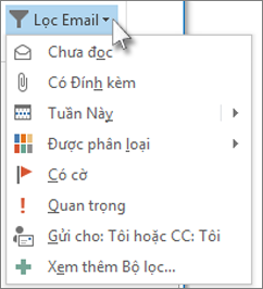 Lọc email